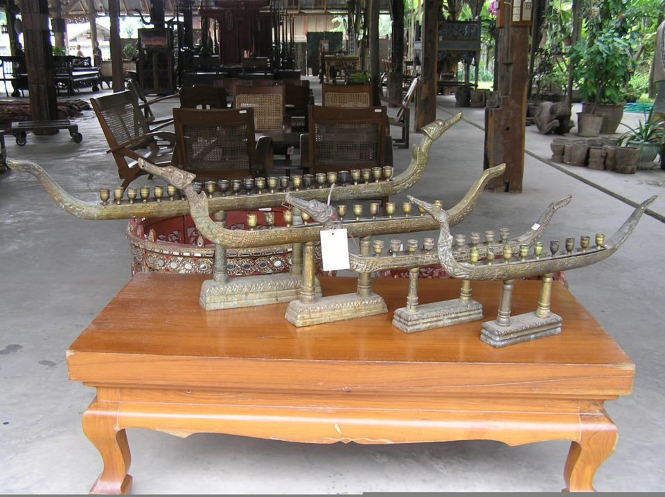 Thai candle holders