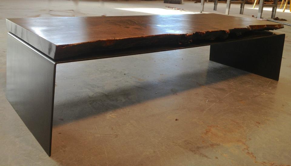 Burl.maple.steel.coffee.table.3