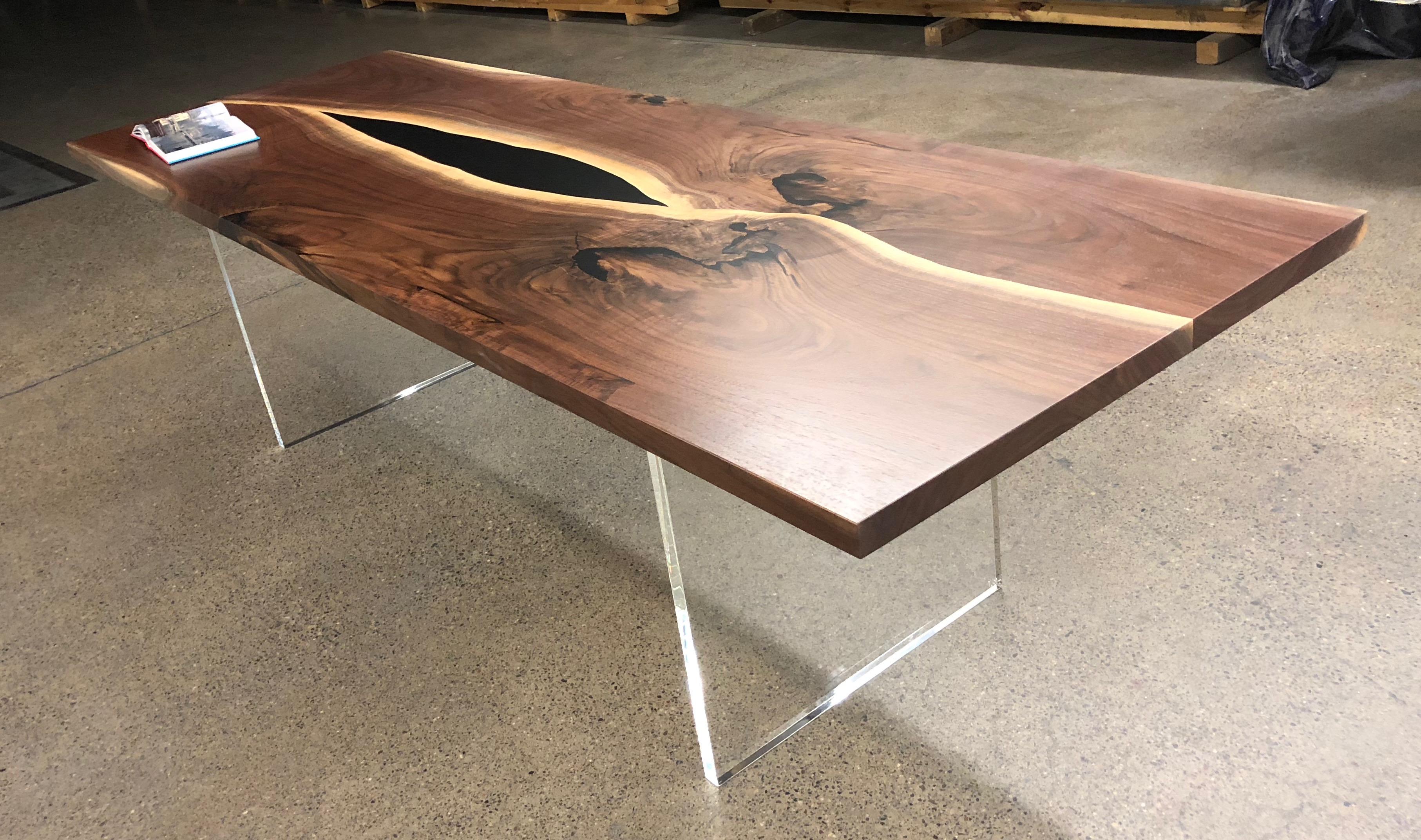Walnut Yin Yang Dining Table Bjorling Grant