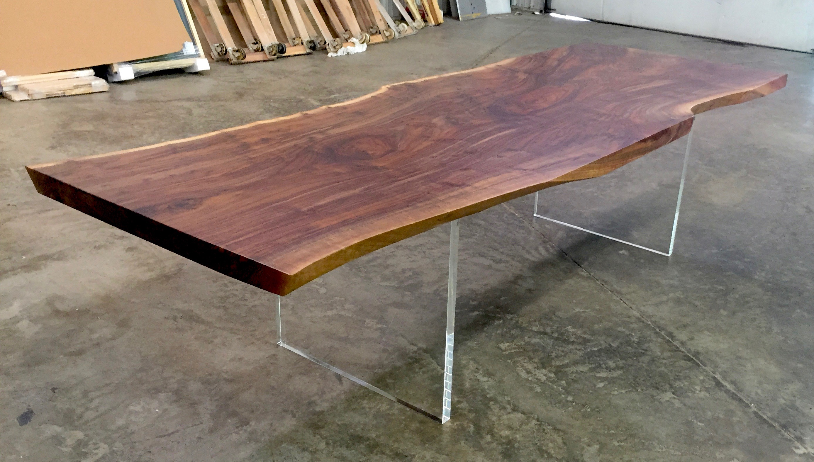 Live Edge Dining Table Walnut Jpg