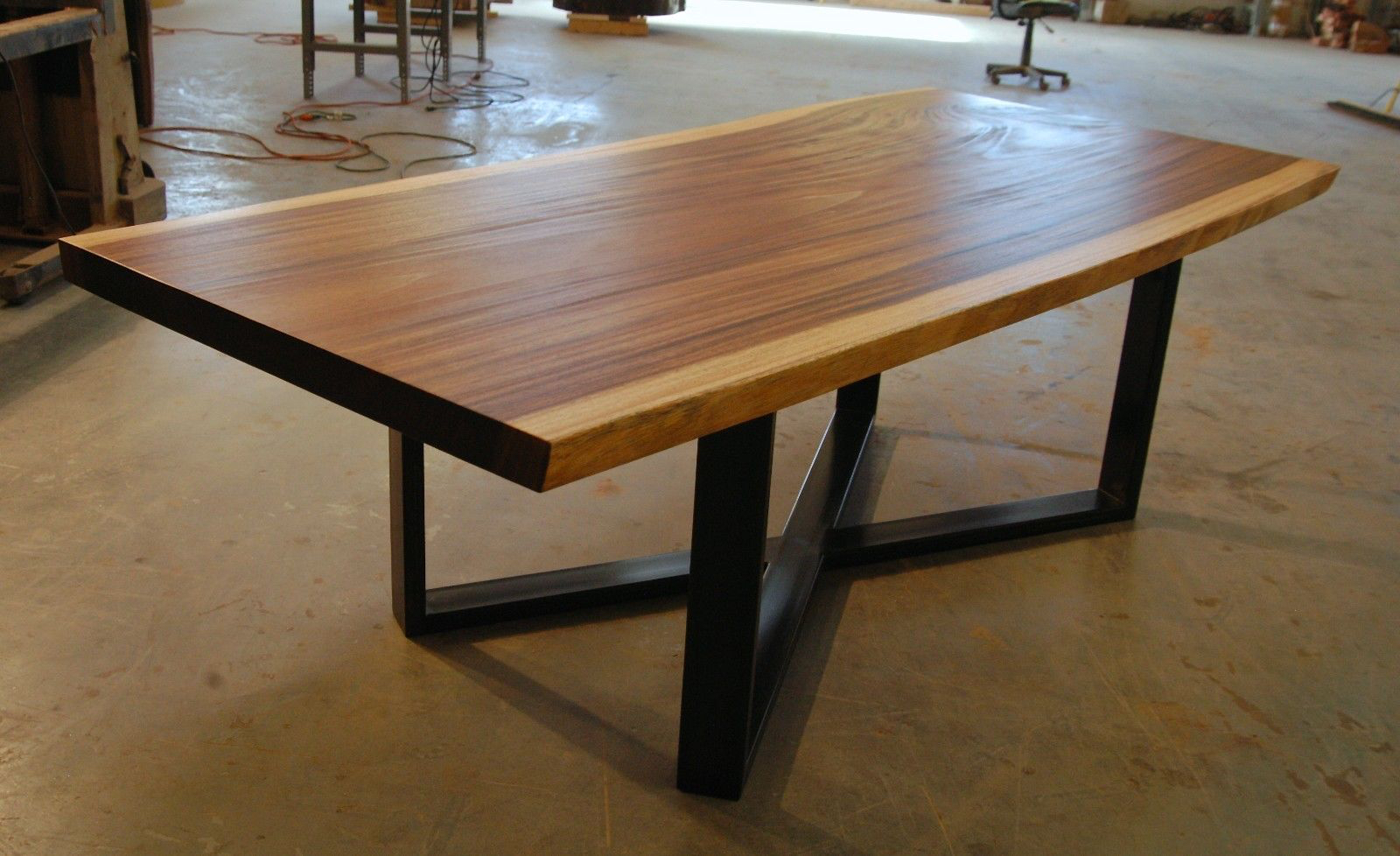 Prime Eden Live Edge Dining Bench Reclaimed Monkeypod Slab Dining Squirreltailoven Fun Painted Chair Ideas Images Squirreltailovenorg