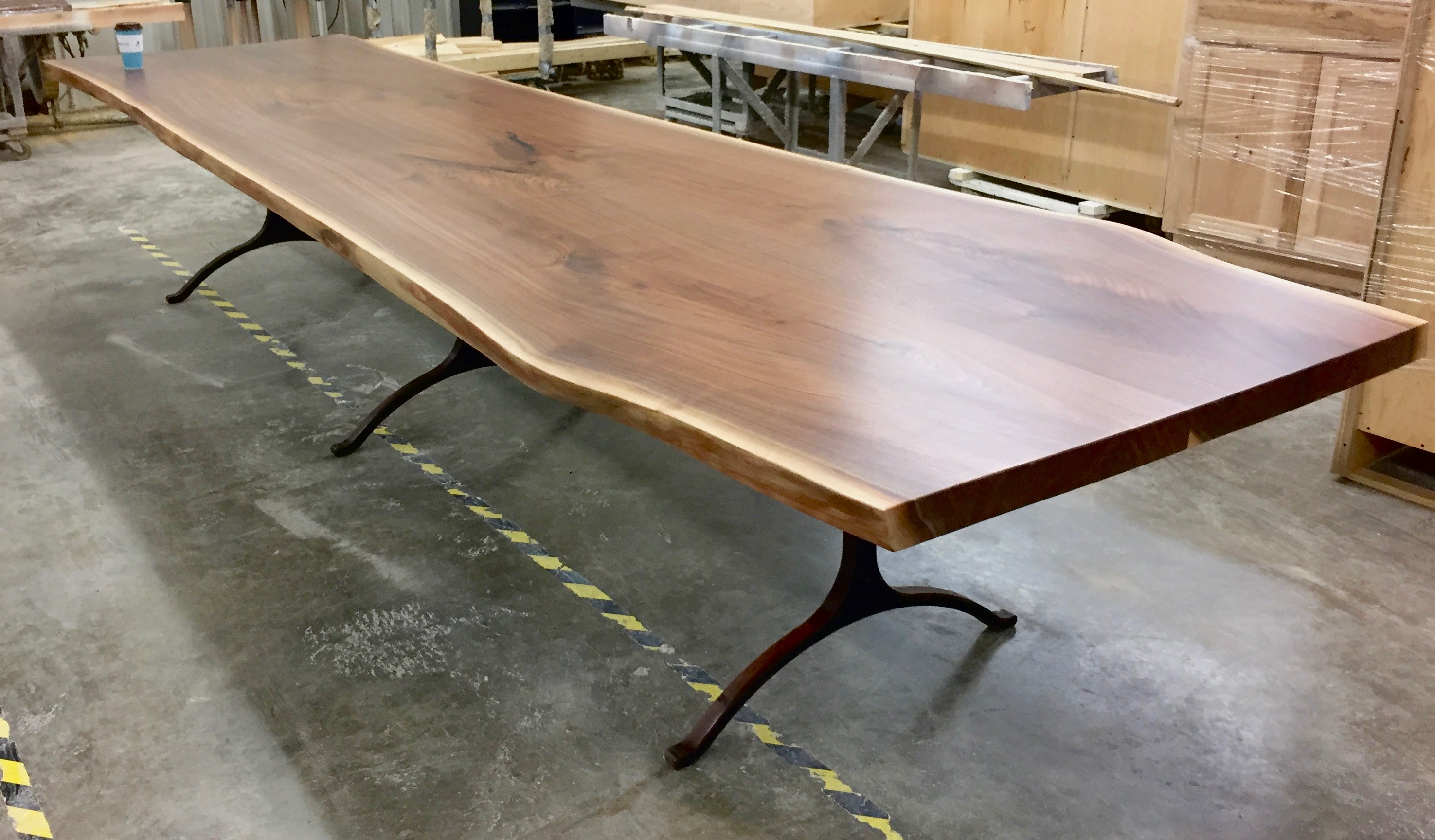 Rawedge Walnut Dining Table Jpg